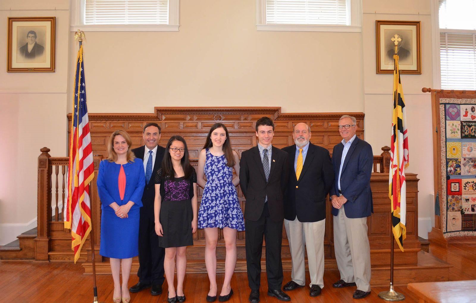 Online >> Foundation Announces High School Essay Contest Winners